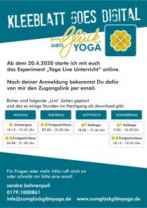 online start flyer